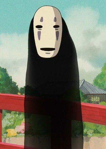 Kaonashi Anime Planet Studio Ghibli Fanart Cool Anime Guys Ghibli Fanart