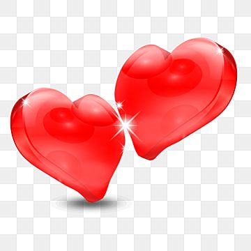 Two 3d Hearts For Valentine 3d Heart Hearts Png Transparent Clipart Image And Psd File For Free Download 3d Heart Valentines Art Valentine