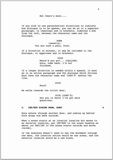 Stage Play Format Template Luxury How To Format A Screenplay In