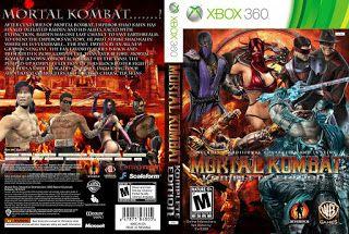 mortal kombat komplete edition xbox 360 capa
