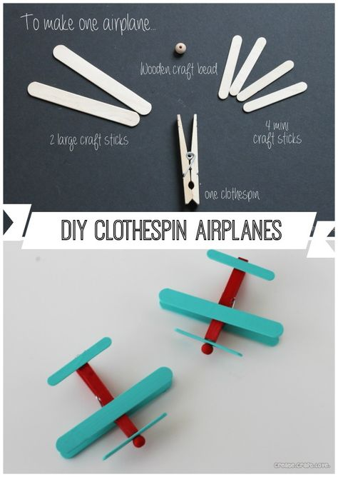 craft stick crafts for kids boys / craft stick crafts for kids ; craft stick crafts for kids boys ; craft stick crafts for kids simple ; craft stick crafts for kids easter ; craft stick crafts for kids christmas ; craft stick crafts for kids diy projects Airplane Party Favors, Airplane Crafts, Diy Airplane Birthday Party, Airplane Cupcakes, Airplane Kids, Airplane Decor, Boy Party Favors, Birthday Favors, Wedding Favors