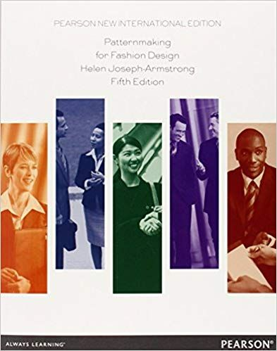 Patternmaking For Fashion Design Pearson New International