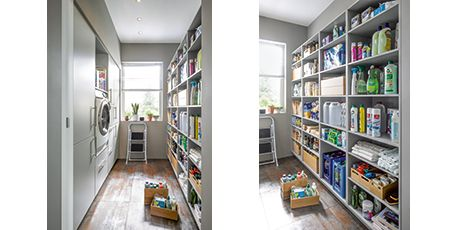 Schuller Mobelwerk Kg Smarte Hauswirtschaftsraume Easy Clean Hauswirtschaftsraum Raum Haus