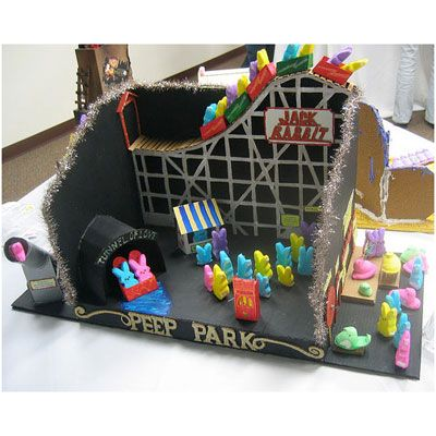 Christa Are We Doing A Peeps Diorama This Year??? Love This One