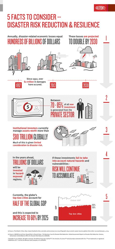 Disaster Risk Reduction and Resilience 5 Facts DuPont USA - manual handling risk assessment