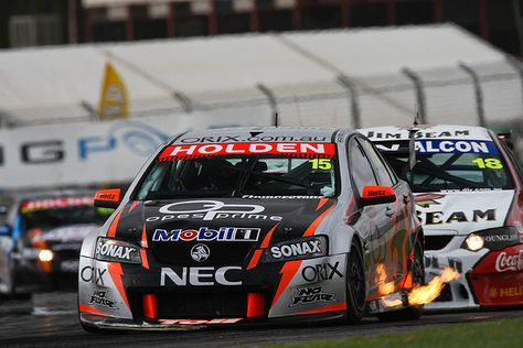 V8 Supercars Race 1 In The Opening Round Of The 2008 V8 Supercar Championship Series At Adelaide S Clipsal 500 As Super Cars Racing V8 Supercars