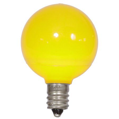 Vickerman G40 Yellow Ceramic Led Replacement Bulb E12 96w Led Replacement Bulbs Bulb Led