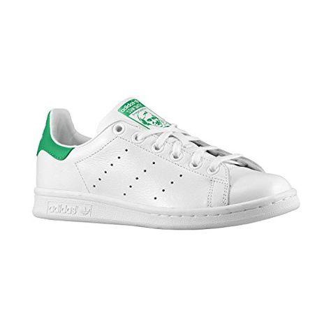 adidas Stan Smith Junior Blanche No | Stan smith, Adidas et Basket ...