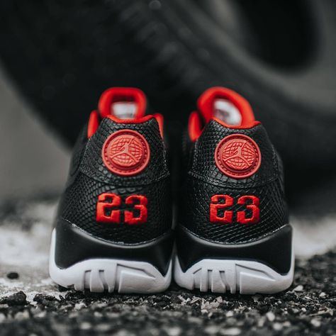 008045cd28a6e9 Air Jordan 9 Retro Low (Black Gym Red) Release date is this Saturday ...