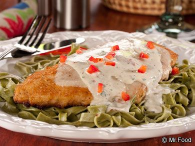 Very Ritzy Italian Chicken - It's a five-star chicken dinner you can make right at home!