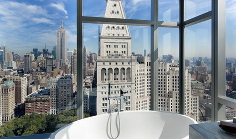 Master Bathroom-Giselle's home in New York for rent