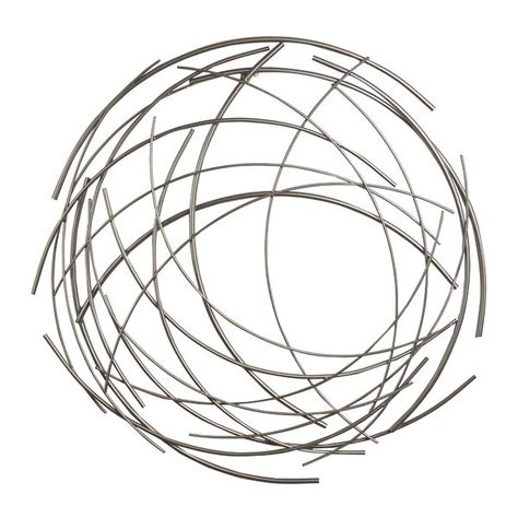 You'll love the Contemporary Abstract Round Wall Décor at