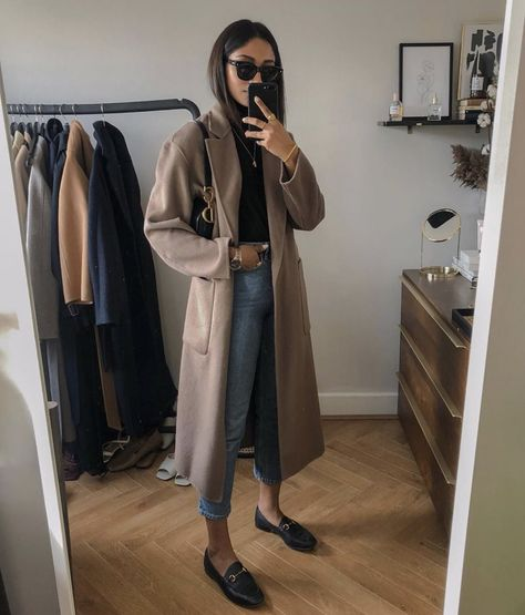 🤩 What do you love about this outfit? Winter Mode Outfits, Winter Fashion Outfits, Autumn Winter Fashion, Casual Outfits, Cute Outfits, Fashion Dresses, Autumn Outfits Women, Fashion Clothes, Beautiful Outfits