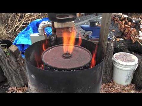 Como Hacer Carbon Vegetal Sin Contaminacion 1 Doble Barrel