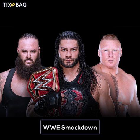 Buy Wrestling WWE Smackdown Ticket