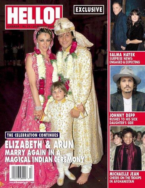 Elizabeth Hurley And Arun Nayar 2007 Celebrity Weddings Photos Celebrity Wedding Dresses Celebrity Weddings