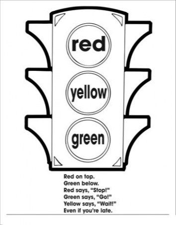 Road Safety Coloring Pages Astonising Traffic Light Coloring Page Yahoo Image Search Results Giant Tour Traffic Light Halloween Coloring Pages Coloring Pages
