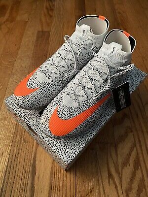 New Limited Nike Mercurial Superfly 7 Elite Cr7 Fg Safari Size 10 W Box W Bag In 2020 Girls Soccer Cleats Nike Football Boots Soccer Cleats Nike