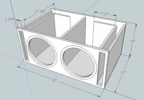 9 12 Subwoofer Box Plans In 2020 Subwoofer Box Design Subwoofer Box 12 Subwoofer Box