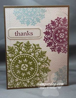 Medallion Stampin Up