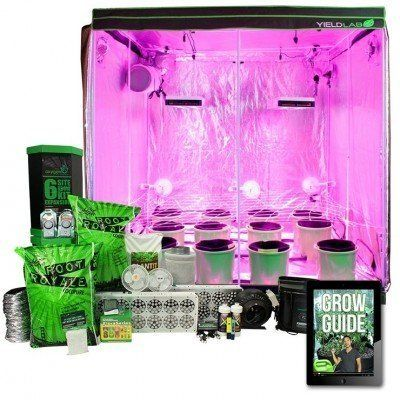 Yield Lab 1000w Hps Cool Tube Hood Reflector Grow Light Kit In 2020 Grow Lights Indoor Greenhouse Grow Tent