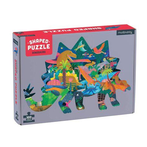 Dinosaur 300 Piece Shaped Scene Puzzle Shape Puzzles Puzzle Games For Kids 300 Piece Puzzles