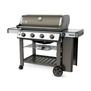 Weber Genesis Ii E410 Gbs Smoke Grey Gas Barbecuegrey Natural Gas Grill Gas Grill Propane Gas Grill