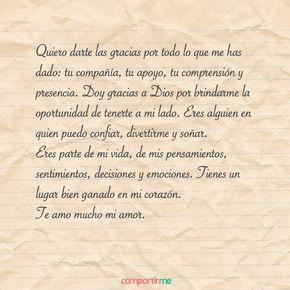 Frasesdeamor Pro Palabras De Amor Cartas De Amor Románticas Carta A Mi Amor