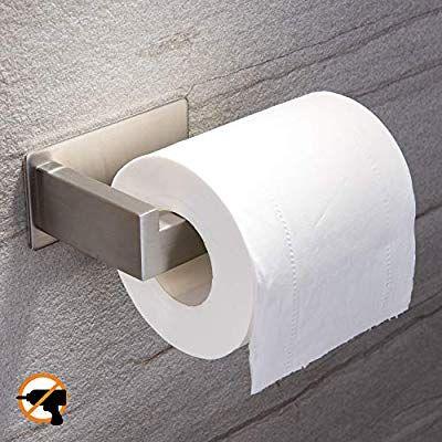 Yigii Toilet Paper Holder Adhesive 3m Self Adhesive Toilet Tissue Holder For Toilet Roll Bathroom S Toilet Paper Holder Paper Towel Holder Toilet Roll Holder