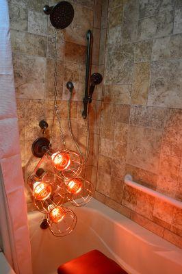 Diy heat lamp sauna near infrared health pinterest saunas diy heat lamp sauna near infrared health pinterest saunas infrared sauna and fascia blaster aloadofball Images