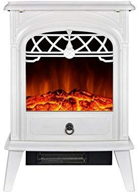 Gmhome Free Standing Electric Fireplace Cute Electric Heater Log Fuel E Free Standing Electric Fireplace Electric Fireplace Best Electric Fireplace