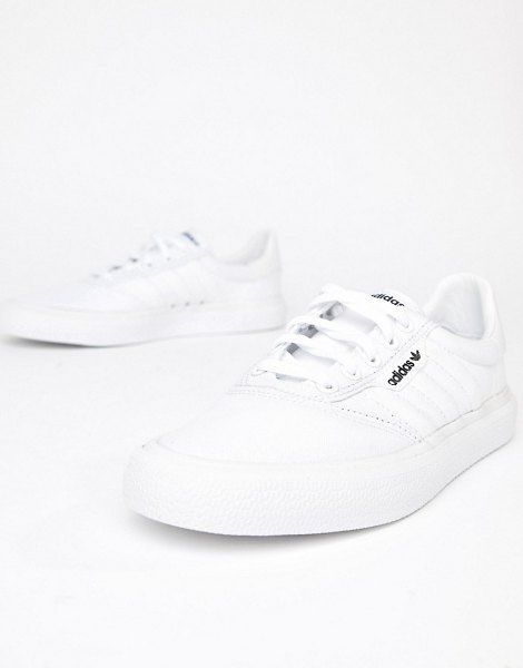 Adidas Skateboarding 3mc Vulc Sneaker In White | Sneakers ...