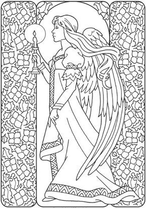 Fun Guardian Angel Coloring Page Angel Coloring Pages Sunday
