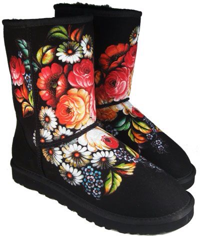 Hand Painting Ugg Http Fix On Tumblr Com Ugg Boots Diy Shoes Designer Boots