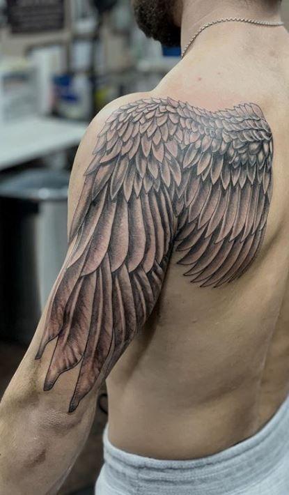 Angel Wings Tattoo Wings Tattoo Angel Wings Tattoo Wing Tattoo Men