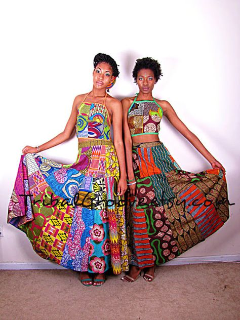 African Prints in Fashion: You asked for it: Long Dresses & Skirts