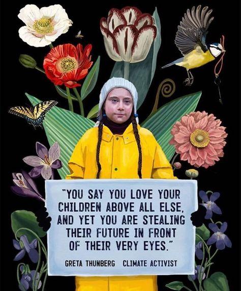 Greta Thunberg by Brooke Fischer