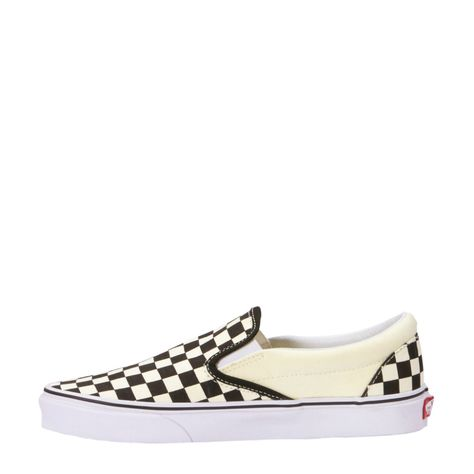 Classic Slip-On sneakers zwart/wit