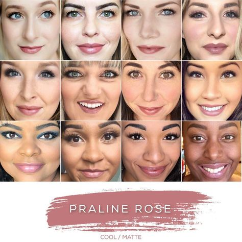 Find your perfect shade? Contact me today about how to  add this amazing color to your LipSense Collection! Distributor 427489 #L4byHailey #LipSense #SeneGence #loveyourlips #lipsensecolors #shesgotthelook #pralinerose