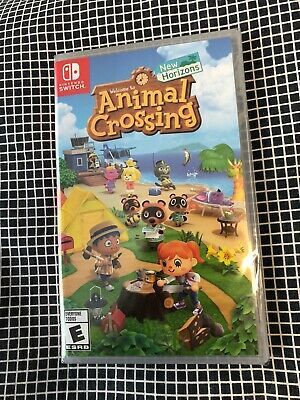 Details About New Animal Crossing New Horizons Nintendo Switch