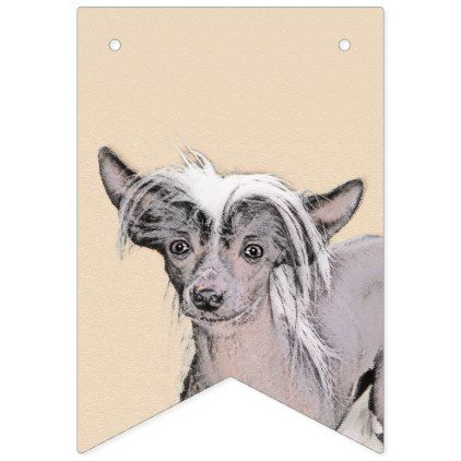 Personalized Chinese Crested Photo Quilt Blanket