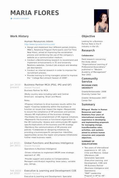 20 Human Resource Internship Resume In 2020 Human Resources Resume Job Resume Samples Sample Resume