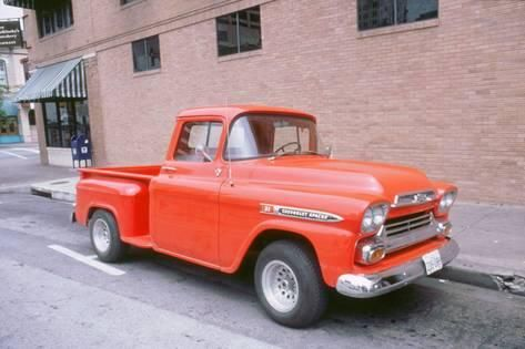 Chevrolet Apache Pick Up Truck Photographic Print Classic Chevy