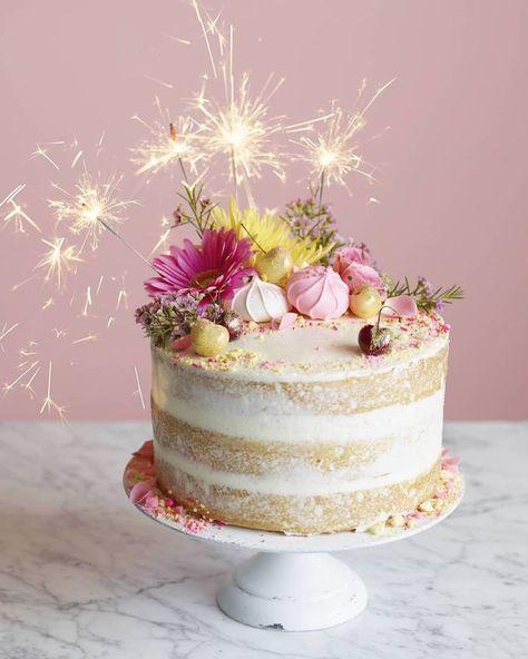 Naked Birthday Cake: