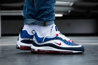 air max 98 on feet