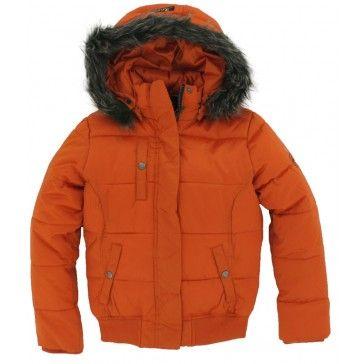 Reset Kinderkleding.Reset Winterjas Orange Reset Winterjassen Kinderkleding En Oranje