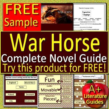 War horse questions | teaching resources.