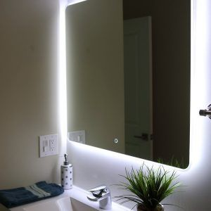 Low Voltage Bathroom Mirror Lights With Images Bathroom Mirror Lights Mirror With Lights Bathroom Mirrors Diy