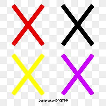 Vetor Pintado De Vermelho Vector Pintados A Mao Red X Imagem Png E Psd Para Download Gratuito Vetores Fundo Transparente Png Fundo De Brilho