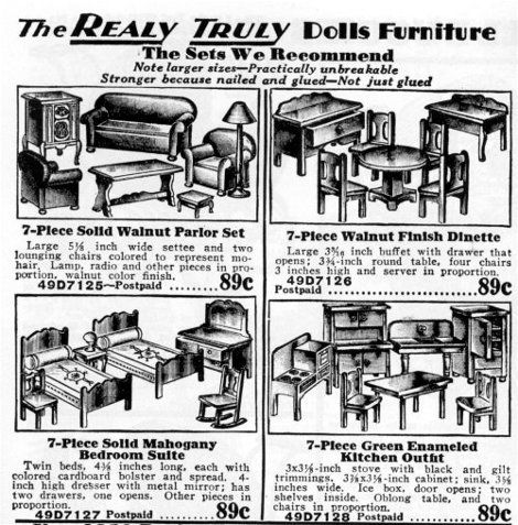 1930s Doll Furniture